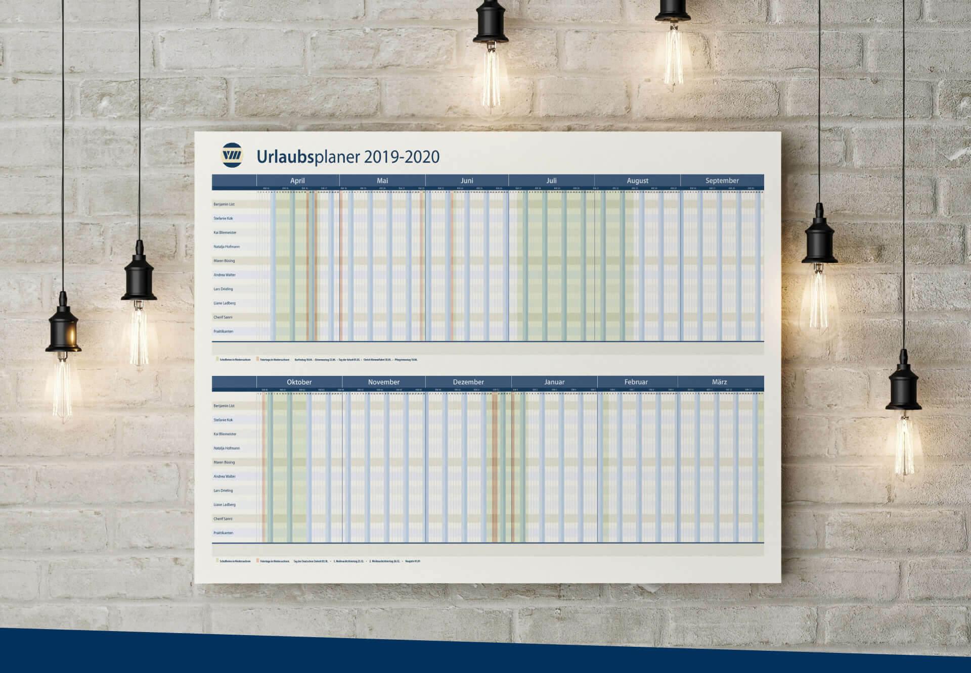 Versicherungsmakler Werner Behrens Wandkalender