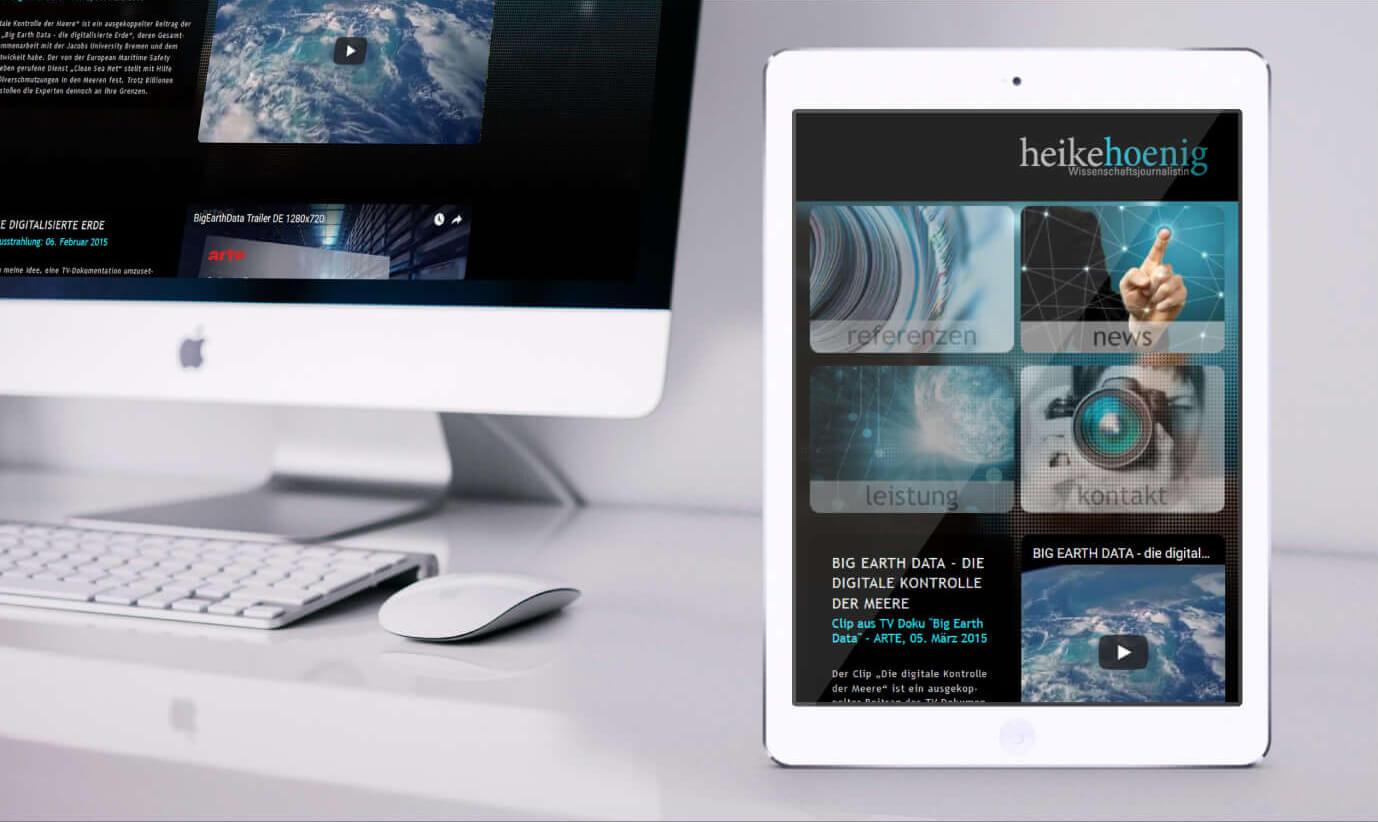 Heike Hoenig Wissenschaftsjournalistin Website