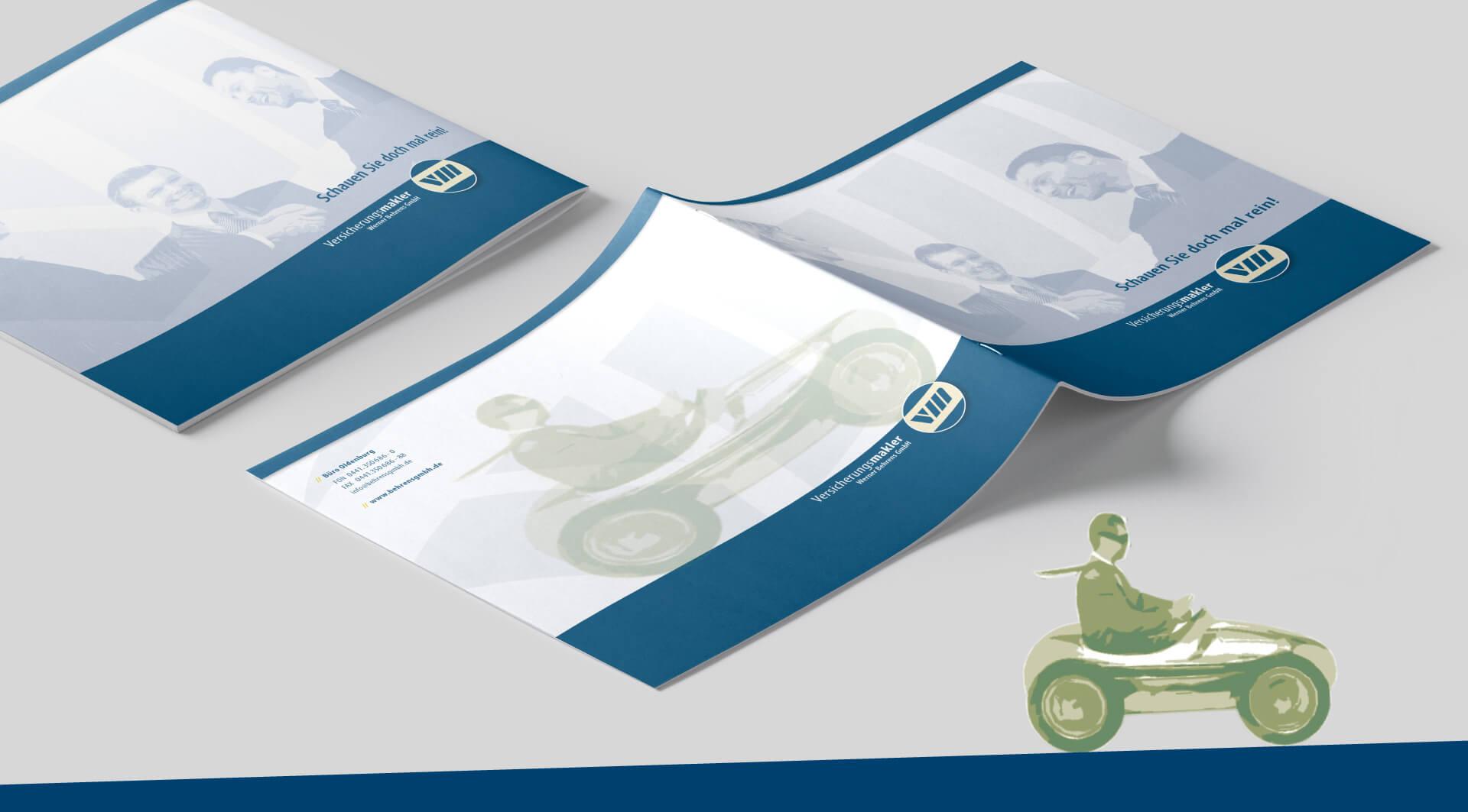 Infomaterial Versicherungsmakler Werner Behrens Oldenburg