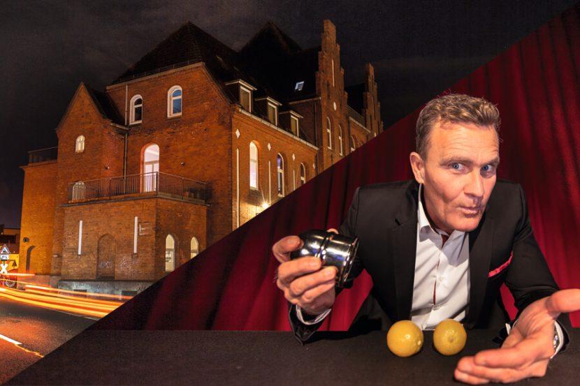 Bild des Zauberkünstlers David Lave und seines theaters