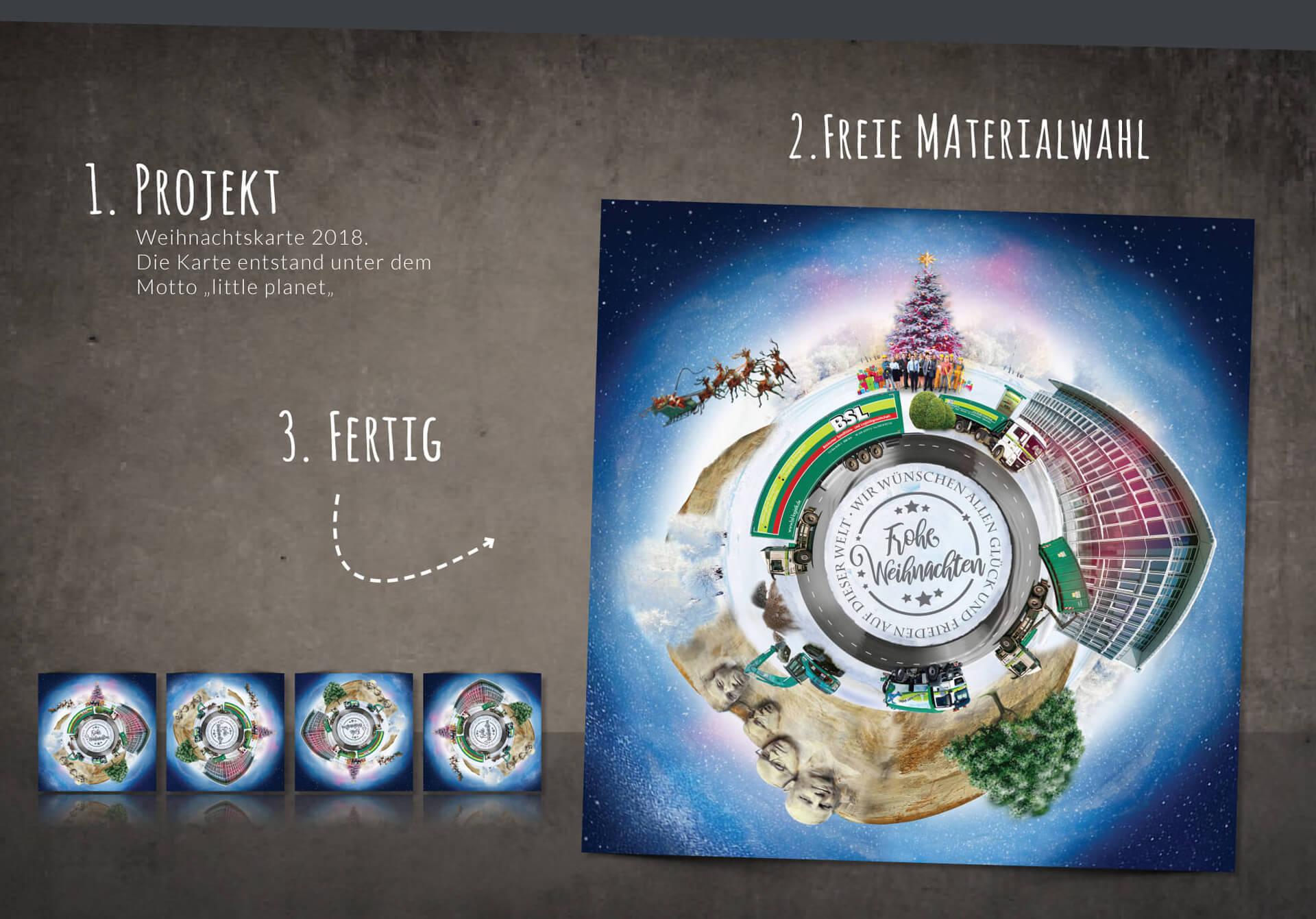 Meyer & Schreiber Unternehmensgruppe Werbeanzeige Weihnachtskarte 2018