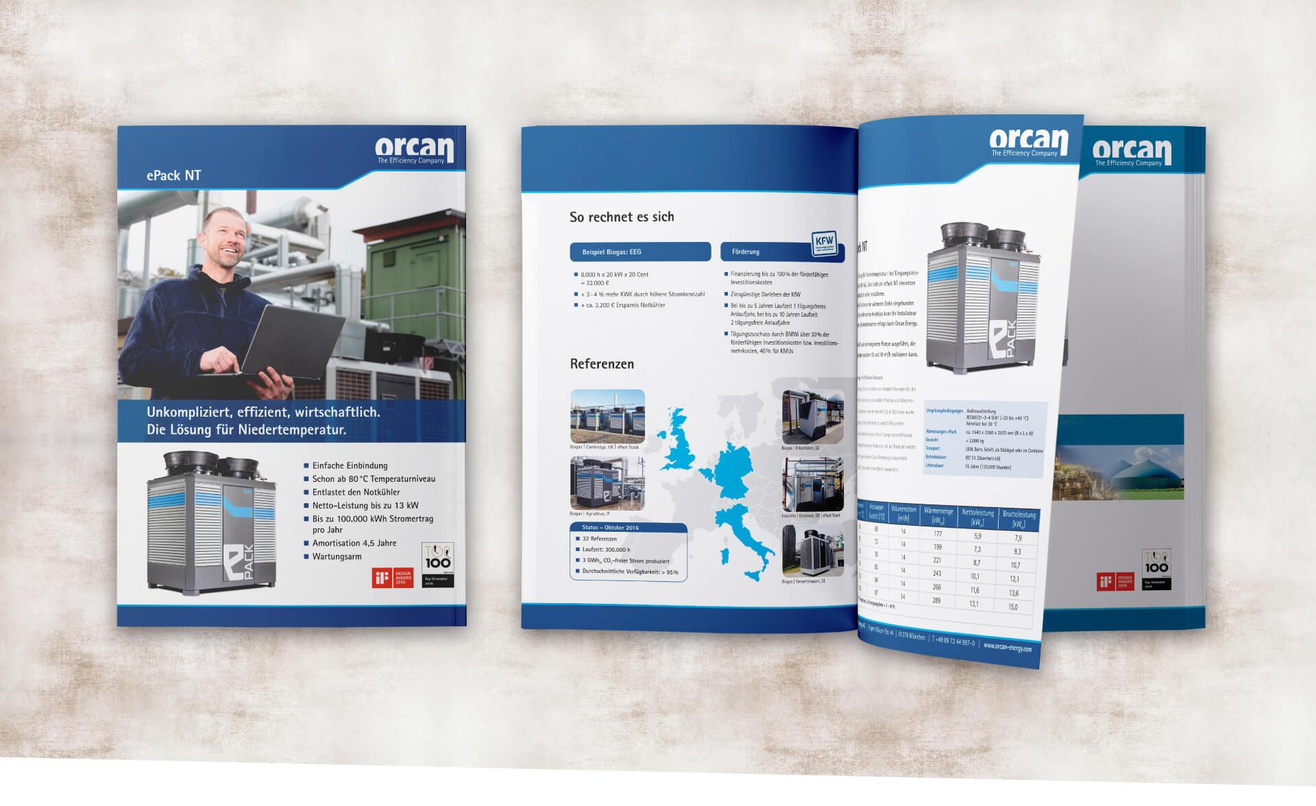 Orcan Energy AG Broschüre