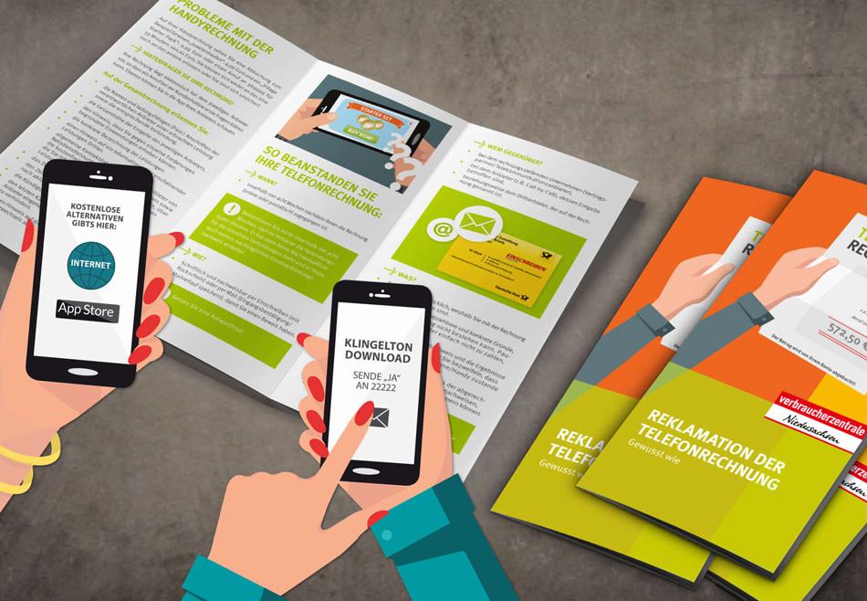 Info Flyer der Verbraucherzentrale Niedersachsen