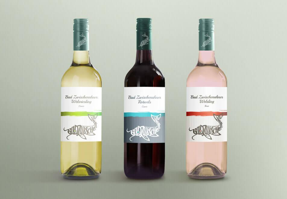Bad Zwischenahn Wels Merchandise Wein Weinetiketten
